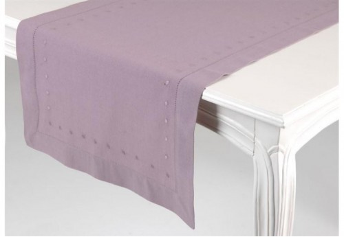 Chemin De Table Lilas  AMADEUS