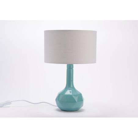 Lampe Varadero bleue D 25 cm