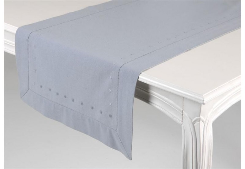Chemin de table bleu amadeus amadeus 961 for Chemin de table bleu