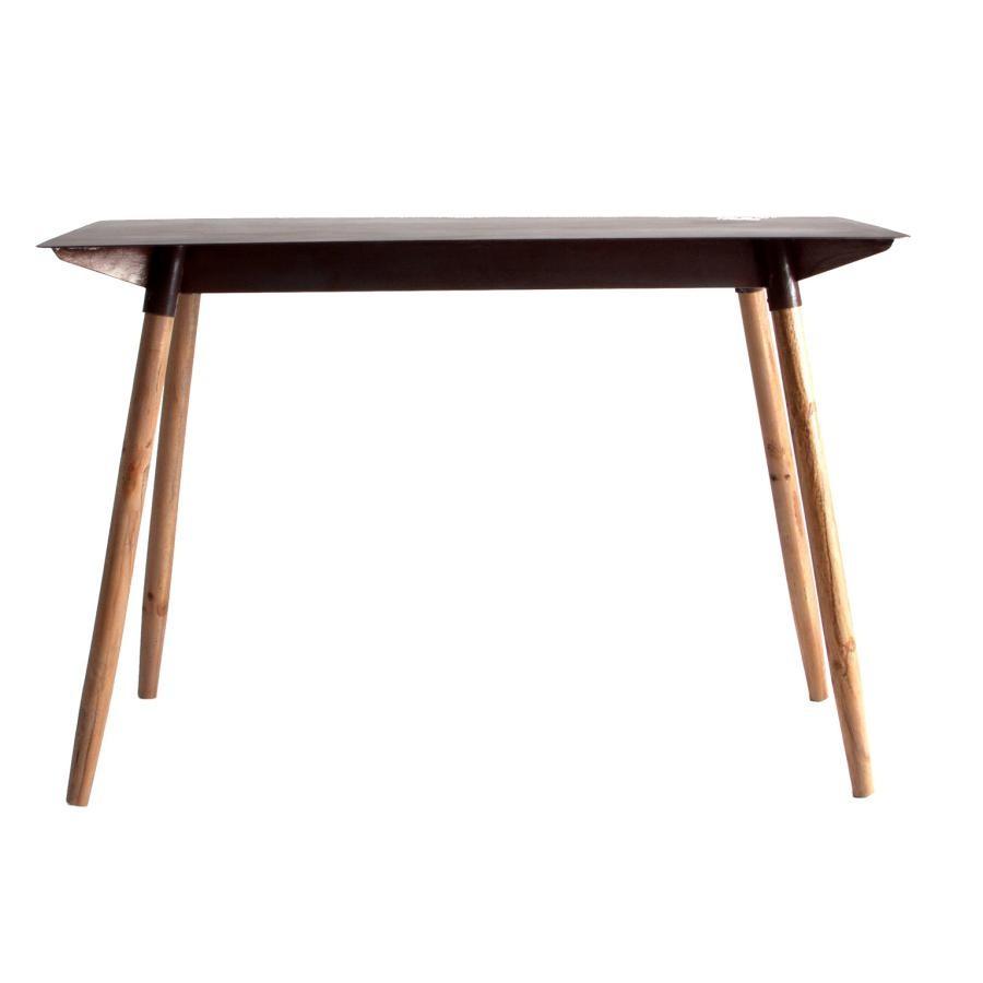 Table À Manger Industrielle table à manger industrielle métal et bois ebrach