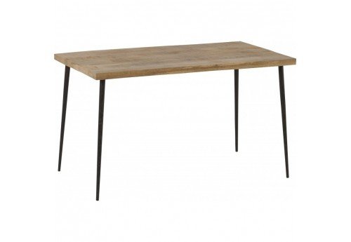 Table à manger scandinave Stockholm 130x70 cm