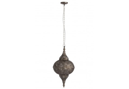 Suspension orientale marron antique