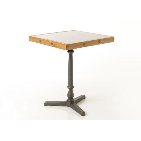 Table bistro dessus galva