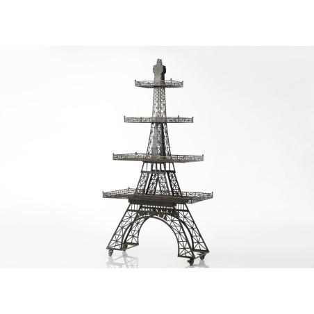 Tour Eiffel étagère industrielle