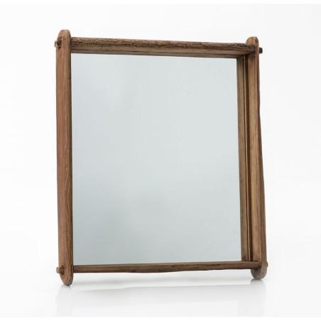 Miroir Vintage rectangulaire en bois Amadeus