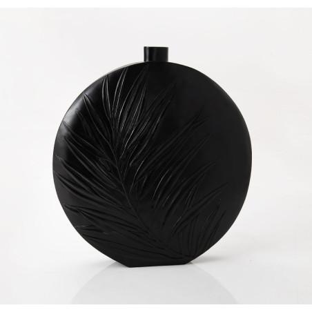 Grand vase Feuille noir Amadeus