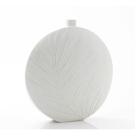 Grand vase Feuille blanc Amadeus