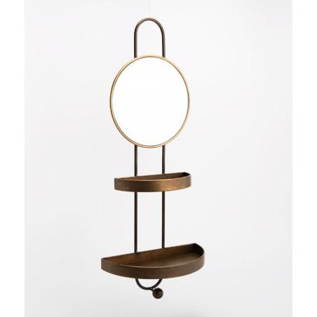 Miroir Porte bijoux métal Amadeus
