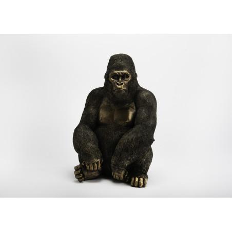 Gorille noir et or Amadeus