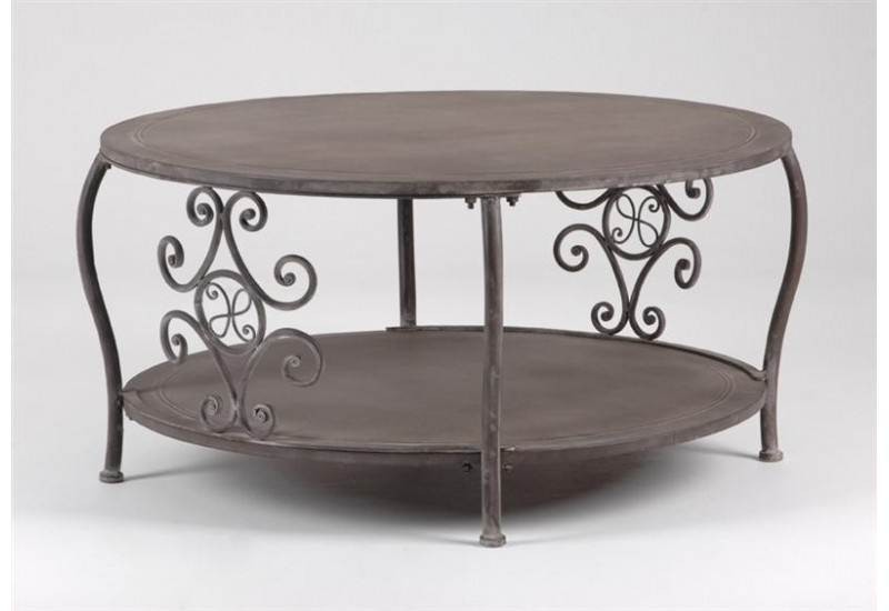Table Basse Ronde  L'Hermitage