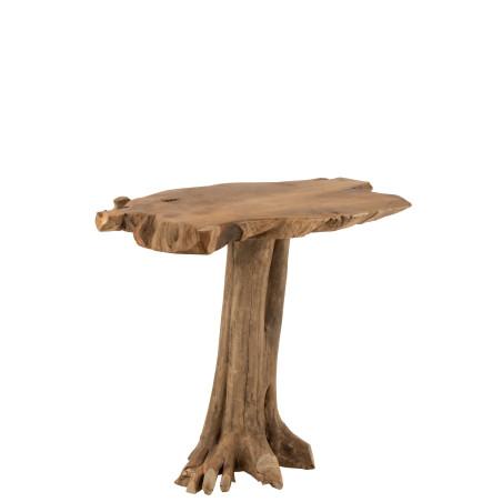 Table Racine Teck Naturel J-line