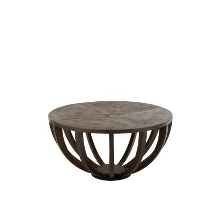 Table basse Fien en bois de manguier