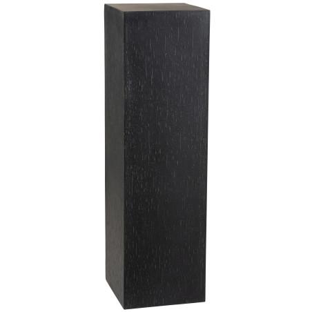 Sellette rectangulaire Argile noir H121cm