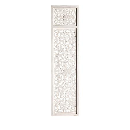 Porte décorative Prieska blanchie cérusé