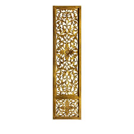 Porte décorative Zeerust, couleur or