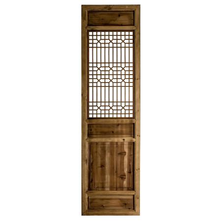 Porte décorative Lindi en orme naturel