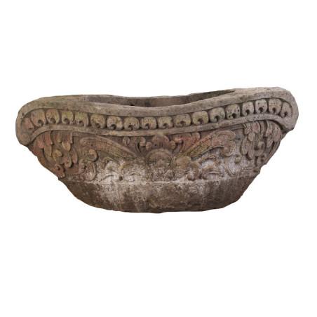 Vase Amphore Kakongo en pierre